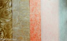 2 x A4 Sheets Standard Roses Vellum 112gsm Chocolate/Red/Small Gold/White NEW