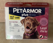 New listing PetArmor Plus Flea and Tick Squeeze-On Large Dog 45-88 lbs, Count of 6