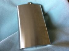 New 64 Ounce Stainless Steel Flask With Hinged Screw On Top