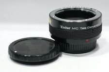 Pentax K A fit Vivitar MC 2x Auto Teleconverter Lens, PK/A camera mount fit