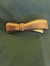 Vintage Gerrys Goldtone Grosgrain Ribbon Pin