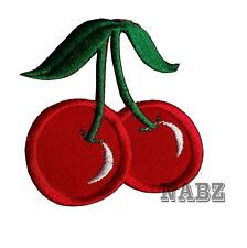 Cherry Rockabilly iron sew on patch badge