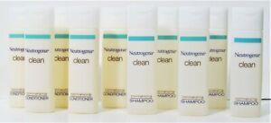 10 Lot New Neutrogena Travel Size Body Lotion 5 Shampoo 5 Conditioner