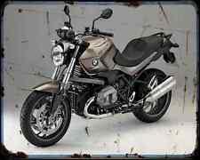 Bmw R1200R 14 2 A4 Metal Sign Motorbike Vintage Aged