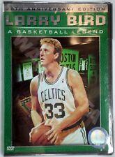 Larry Bird: A Basketball Legend DVD 2004 2-Disc Set 25th Anniv NBA HOLO NEW