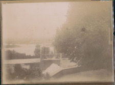 France, Grange démolie, ca.1905, Vintage citrate print Vintage citrate print
