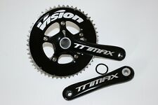 FSA VISION TRIMAX CHAINSET / CRANK 172.5mm DOUBLE 10 SPEED AERO TT BB30