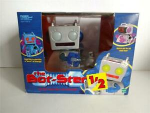 Tiger Electronics Hasbro The Bot Ster Robot Silver Robot New in Package