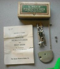 "Vintage Singer Sewing Machine Part# 121387  ""HEMSTITCHER PICOTING ATCH."" Simanco"