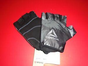 REEBOK Men's FITNESS Training Gloves Style RAGB-1353 Size S M L XL NEW