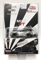 TSM Mondel MINI GT 1/64 LB Works Nissan Skyline GT-R R35 MGT00031 Chase Car