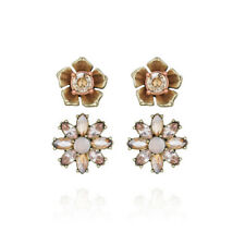 Chloe and Isabel Gardenia Stud Duo Earrings - E272 - NEW