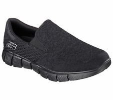 Skechers 61779 Black-12-M Oxfords Mens Dress Shoes Size 12 -USED