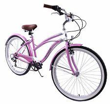 "Mesdames AMERICAN USA Californian style Beach cruiser vélo vitesse 6 16"" Cadre Cycle"