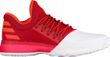NEW! Adidas James Harden Vol. 1 Home Boost Scarlet Red White BW0547 Size 17