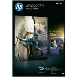 HP Advanced Glossy Photo Paper 50 sheets 250gsm 10x15 6x4 Q8008A Q8692-60003 New