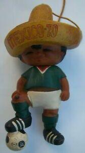 Orig.mascot   World Cup MEXICO 1970  -  JUANITO / 15 cm   !!!!   A TRUE RARITY