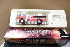 2002 CORGI 1/50 SCALE FIRE ENIGINE SEAGRAVE K FAIRFAX COUNTY VA BOXED US50806