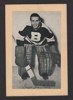 1944-63 Beehive Group II Boston Bruins Photos #31 Jim Henry