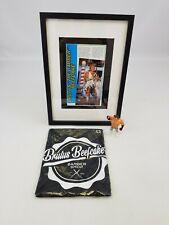 Brutus the Barber Beefcake Shop T-Shirt Action Figure Framed Art Zebra WWF WWE
