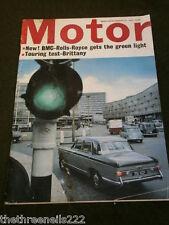 MOTOR MAGAZINE - ROLLS ROYCE - AUG 22 1964