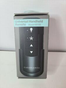 Casablanca Universal Handheld 4 Speed Remote Control Model 99198