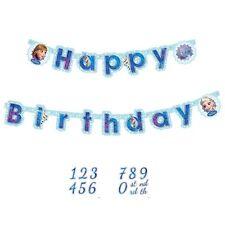 FESTONE Disney FROZEN 1.80 m personalizzabile Addobbi Festa Compleanno Banner