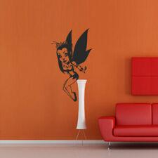 Wall Decal Sticker Vinyl Fairy Girl Wings Cartoon Story Film Elf Butterfly M314