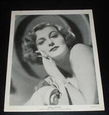 LQQK vintage 1930s original photo, DORIS NOLAN, film actress #72