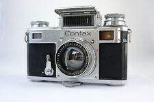 Contax III II IIIa 1936 35mm Camera + Carl Zeiss Sonnar 50mm f/2.0, STUNNING