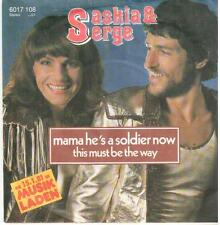 "<155> 7"" Single: Saskia & Serge - Mama He's A Soldier Now / This Must Be The Way"
