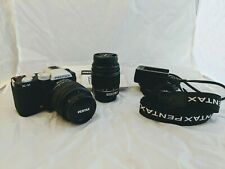 Pentax K-01 Body With Standard And Telephoto Lens (pre owned)