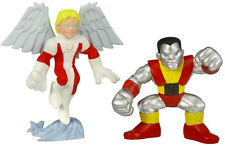 Marvel Super Hero Squad Collection_ANGEL and COLOSSUS figures 2 Pack_MIP and New