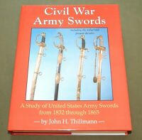 """CIVIL WAR ARMY SWORDS"" US AMES COLLINS TIFFANY OFFICER NCO SABER REFERENCE BOOK"