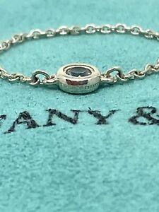 Tiffany & Co. Elsa Peretti Sterling Silver Aquamarine Ring By The Yard