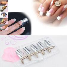 Salon Tips Forms UV Gel Nail Extension Acrylic Nail Art Transparent Box Kit