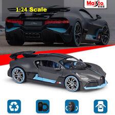 New Bugatti Divo Gray - Maisto 1:24 Scale Diecast Model Car Roadster Collection