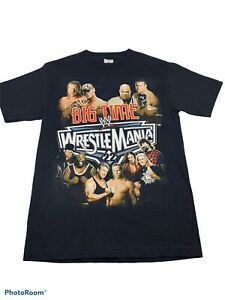 🔥 WWE Wrestlemania • 22 Big Time Shirt • 2006 • Smack down • Wrestling Size S