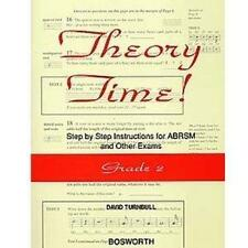 Theory Time: Grade 2, Good Condition Book, Turnbull, David, ISBN 9780711991651