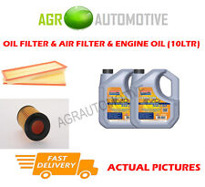 PETROL OIL AIR FILTER + LL 5W30 OIL FOR MERCEDES-BENZ E240 2.6 177 BHP 2003-06