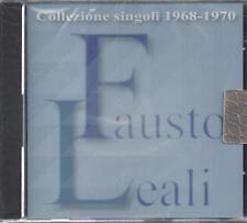 CD ♫ Compact disc **FAUSTO LEALI ♦ COLLEZIONE SINGOLI 1968-1970** nuovo sigillat