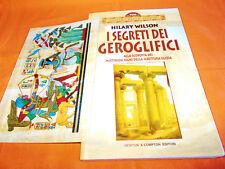 hilary wilson i segreti dei geroglifici newton compton 1998