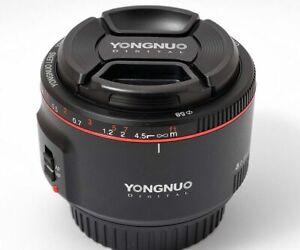 Obiettivo Yongnuo yn50mm f1.8 II per Canon