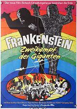 Frankenstein-Zweikampf der Giganten|War of the Gargantuas 1966 Honda Kinoplakat