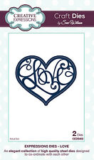 Sue Wilson Dies Expressions Collection ~ Love ~ Ced5402, Nip