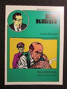 1980 RIP KIRBY Blackmail #4 VF/NM 9.0 Pacific Comics Club Alex Raymond