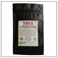 BEST SELLING TUDCA 300mg VEG CAPSULES or PURE POWDER - Tauroursodeoxycholic Acid