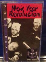 Down Boyz - New Year Revelations Cassette Tape rare Detroit rap hip hop the roc