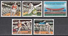 Ελλάδα / Griechenland 1575-1579** Hallenleichtathletik EM 1985 Athen