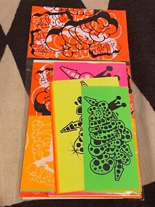 Limited SPONE NYC graffiti stickers barry mcgee  Rare NYC